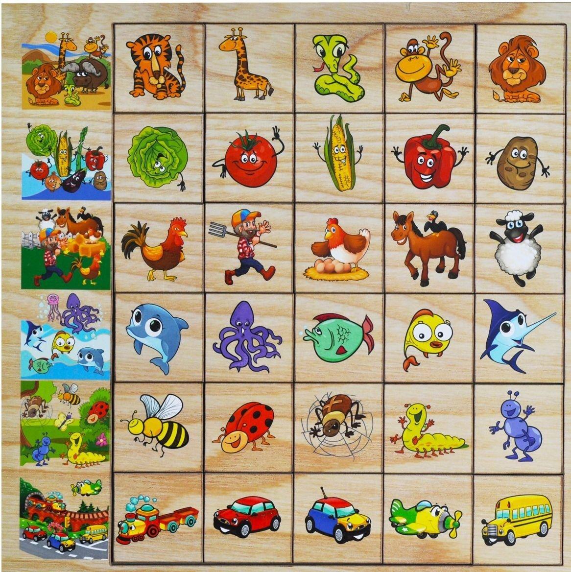обучающие и развивающие игры с картинками